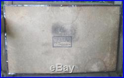 VTG Black Americana Collectible COOKS BEER Original Tin Metal Sign 21x13