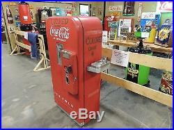 Vendo 39 Coke Machine (un-restored) Black Americana As-is Barn Find