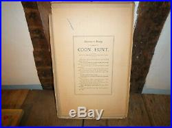 Very Rare 1906 Parker Brothers The Coon Hunt Game