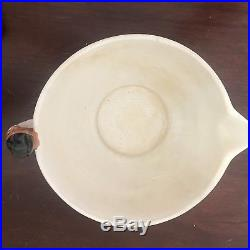 Vintage 1930's WELLER Black American Art Pottery Batter Bowl