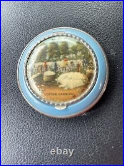 Vintage 1930s Black Americana Powder Compact (Cotton Carnival)