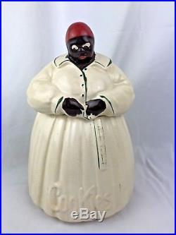 Vintage 1940's Aunt Jemima Mammy McCoy Cookie Jar Rare