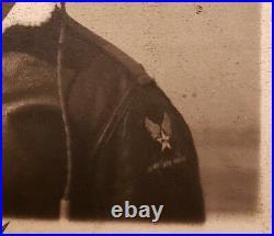 Vintage African American Black Ww2 1944 Tuskegee Airman Usaaf Aaf Headset Photo