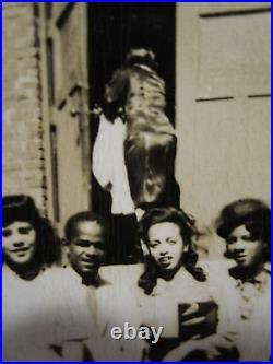 Vintage African American Salem Baptist Church Champaign Chicago Bolden Photo