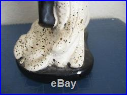 Vintage African Dancer Chalkware Statue Magidson Bros Black Americana Figure