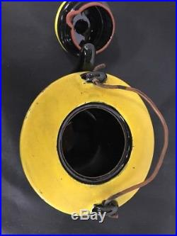 Vintage Americana Redware Ceramic Black Cat Teapot Kettle Red Ware Amazing Rare