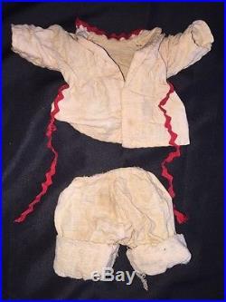 Vintage Amosandra Black Americana Doll By Ruth E Newton & Sun Rubber Amos & Andy