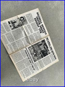 Vintage BLACK PANTHER Party Newspaper 1971 Emory Douglas Huey Newton