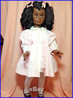 Vintage Black African American Patty Play Pal Friend by Eugene 1974