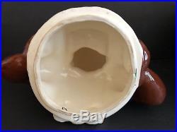 Vintage Black Americana BRAYTON LAGUNA Mammy 12.5 inch Cookie Jar with defects