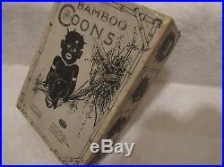 Vintage Black Americana Black Memorabilia Bamboo Coons Candy Box