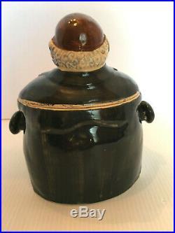 Vintage Black Americana Butler Pappy Mammy Cookie Jar