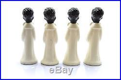 Vintage Black Americana Choir Boys Figurines Alter Boys Japan