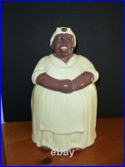 Vintage Black Americana Cookie jar from Mosaic Tile Co