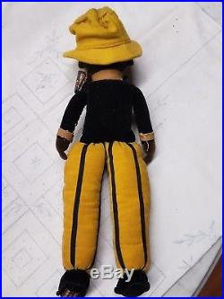 Vintage Black Girl Americana Norah Wellings Collectible Doll 15 Free Ship! 1950