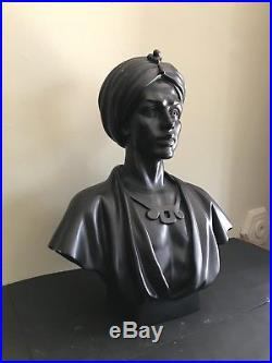 Vintage Blackamoor Bust Statue 18