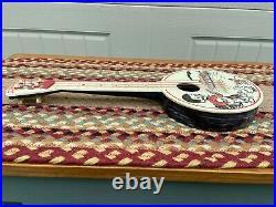 Vintage Carnival Banjo Childs Toy Black Americana