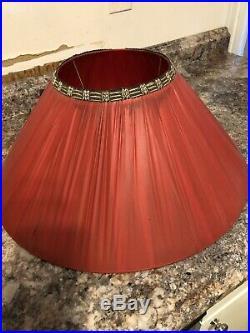 Vintage Chalkware Black Americana Blackamoor Gennie Lamps With Original Shades