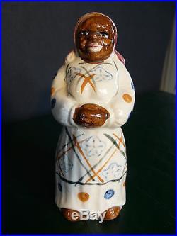 Vintage Collectible Black Americana Mammy Salt Shaker 1940's Japan