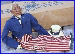 Vintage Daddy Long Legs Doll Uncle Sam African Americana 1995 Karen Germany RARE