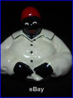 Vintage Original 1940's McCoy Mammy Aunt Jemima Black Americana Cookie Jar