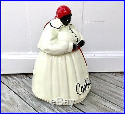 Vintage Original McCoy Mammy Aunt Jemima Cookie Jar Black Americana