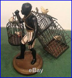 Vintage Petites Choses 5 Man with Bird Cages