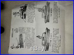 Vintage Phonograph Talking Machine Toys Boxing & Ragtime Rastus, Black Americana
