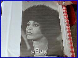 Vintage Poster Free Angela Davis Synergisms #184 AFRICAN AMERICANA Black Panther