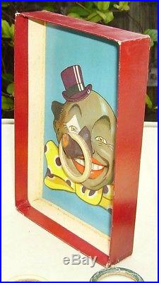 Vintage Spear's Games The White Eyed Coon Black Americana ring toss game