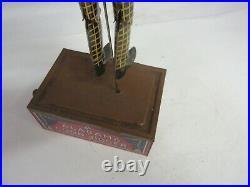 Vintage Tin Toy Strauss Alabama Coon Jigger Wind Up Rare Tombo Tin Toy 648