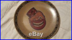Vintage VERY RARE COLOR COON-CHICKEN INN Plate NICE RARE ESTATE FIND