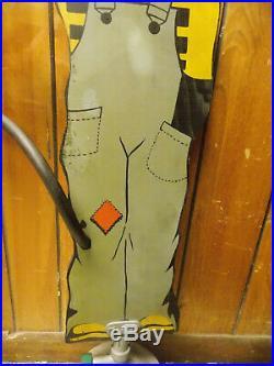 Vintage Wooden Sprinklin' Sambo Yard Sprinkler with Original Box