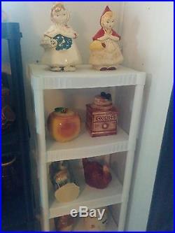 Vintage cookie Jars Hull, Red Riding Hood, Mccoy 155+ all original