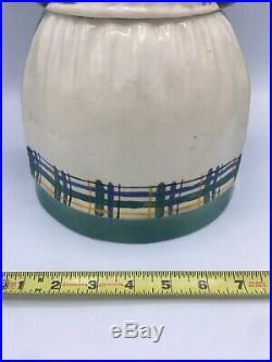 Vtg Aunt Jemima Mammy Cookie Jar unsigned Brayton Laguna Pottery Black Americana