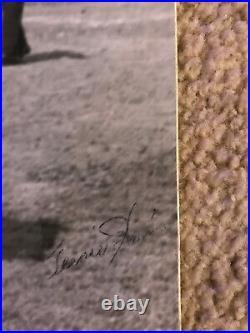Vtg Teenie Harris Signed Josh Gibson Reverse Negative Of Original! Rarest Item
