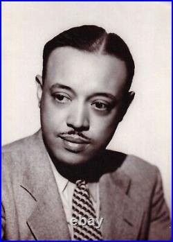 WILLIAM GRANT STILL African American Composer TLS 1937 with content & photo Rare