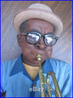 Willitts Designs Moe Cheeks Sculpture All That Jazz Collection PICKUP ONLY
