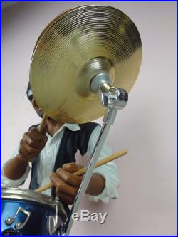 Willitts Galleries Designs All That Jazz Collection Cool Cat Drummer