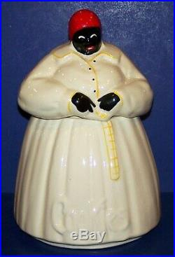 Wonderful Vintage Mccoy Black Americana Aunt Jemima/mammy Cookie Jar