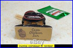 World Famous Coon Chicken Inn restaurant chain toothpick holder