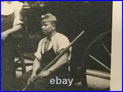 XXX Rare African Black German Soldier Free Arabian Legion Photo Ww2
